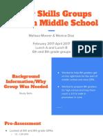exemplar 2 study skills groups