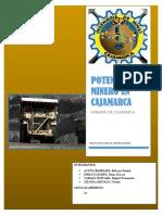 Potencial Minero en Cajamarca