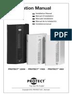 Generador de Niebla Protect 2200i Protect 1100i Protect 600i