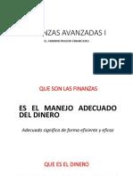 Finanzas Avanzadas El Dinero