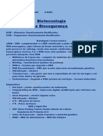 Biotecnologia e Biosegurança