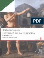 Capelle, Wilhelm - Historia de la Filosofia Griega.pdf