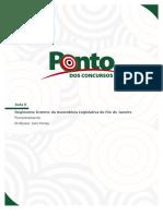 Pos Edital Assembleia Legislativa Do Rio de Janeiro Especialista Qualquer Nivel Superior Regimento