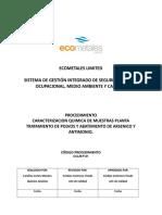 CCLM-P-01 CARACTERIZACION QUIMICA DE MUESTRAS PTPA.doc
