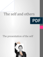 Lecture 4 - The Self and Others