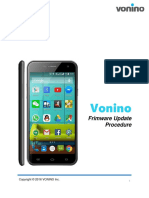 Vonino Procedura Actualizare Software ENG