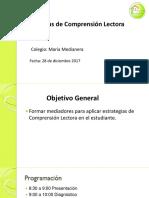 Ppt Capacitación María Medianera Clara Vargas g Lenguaje 28 de Dic