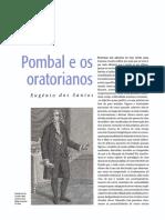 O Marquês de Pombal e Os Oratorianos