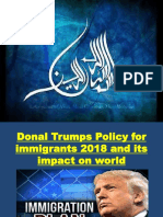 Donal Trump Policy NIA TP