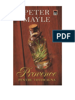 Peter Mayle - Provence Pentru Totdeauna v 1.0