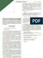 DECRETO SUPREMO Nº 186-2010-EF