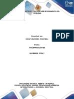 Fase 4 Diagnostico y Propuesta de Mejoramientodel Problema