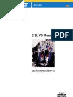 Cuaderno didactico No.62 - 2,3 L V5 mecánica