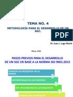 Tema No. 4 Metodología Sgc
