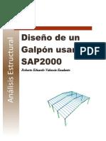 Diseño Galpon SAP 2000