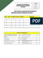 PA-GS-002 Análisis Del Entorno e Identificación de Riesgos Sociales