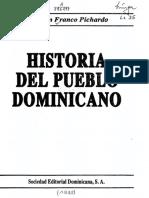 Historia Del Pueblo Dominicana