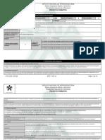 Reporte Proyecto Formativo - 1374469 - Planeacion Financiera de Las o