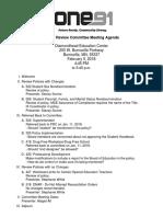 agenda prc feb 5