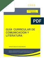 ANEXO H 1 - GUÍA COMUNICACIÓN Y LITERATURA 2017 - tercer grado.pdf