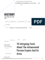 10 Intriguing Facts About the Achaemenid Persian Empire