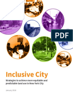 Regional Plan Association Report Inclusive City, January 2018