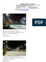 Led Streetlight Projects