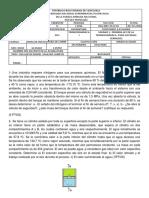 Evaluación .Primera Ley ( Sistemas Cerrados) Ing-mec-d-01-Mod-c