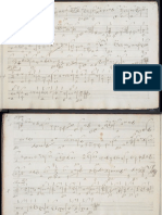 Anonymous Pieces for Baroque Lute in Tablature
