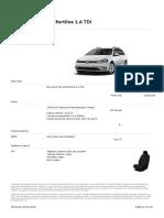 Oferta VW Golf Variant 3 Februarie 2018