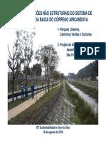 Projetos Acoes Corrego Aricanduva