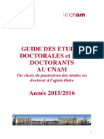Guide Études Doctorales Et Doctorants 2015 2016 Web 2