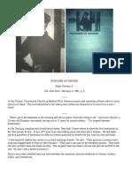 """Ralph Gardner Jr., """"Prisoner of Gender,"""" Soho News 2/4/81"""