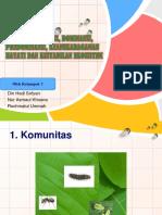 3.5 KONSEP KOMUNITAS, DOMINANSI, PREDOMINANSI, KEANEKARAGAMAN.pptx