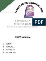 Semiología de mucosa oral
