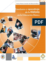 Ensenanza Aprendizaje Historia Educacion Basica
