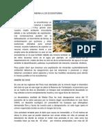 Como Afecta La Mineria a Los Ecosistemas