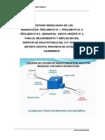 Estudio Hidrologico de Manantiales Para Agua Potable