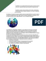 El Método de Investigación Cualitativa Es La Recogida de Información Basada en La Observación de Comportamientos Naturales