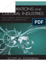 Scott W. Fitzgerald_Corporations and Cultural Industries. Time Warner, Bertelsmann, And News Corporation