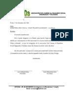 Carta de Presentacion Colca