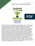 Android Curso Practico Para Todos Los Niveles