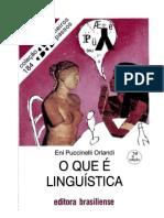 Bibliografia básica. ORLANDI, Eni. O que é linguística. [Recorte 1 de 2].docx