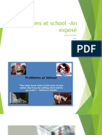 Problems at School –an Exposé