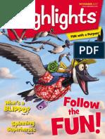 Highlights for Children November 2017
