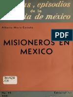 Alberto María Carreño, Misioneros en México (2)