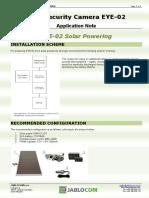 Jablotron EYE2 Solarbetrieb