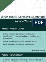 Scrum - Papeis, Cerimonias e Artefatos