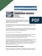 dermatologia geriatrica