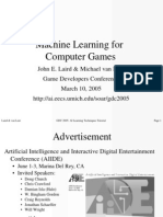 Machine Learning for Computer Games - Gdc2005